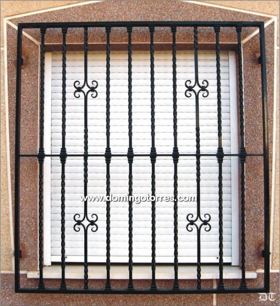 Rejas de diseo en forja y hierro forjado para ventanas - Rejas de hierro forjado ...