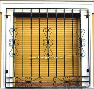 Rejas para ventana en metal desplegado herreria en gral - Puertas de metal para casas ...