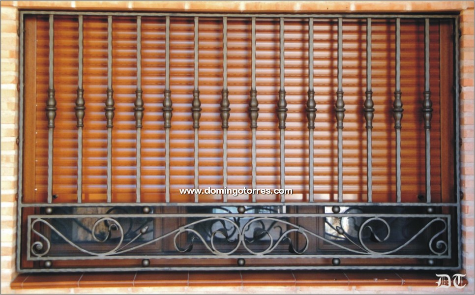 Rejas a medida rejas para ventanas cerramiento de patios - Rejas de hierro forjado ...
