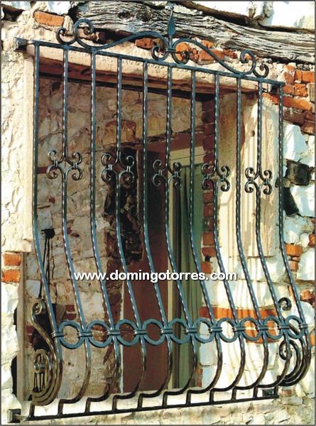Rejas para ventanas de forja artstica hierro fundido - Rejas de hierro forjado ...