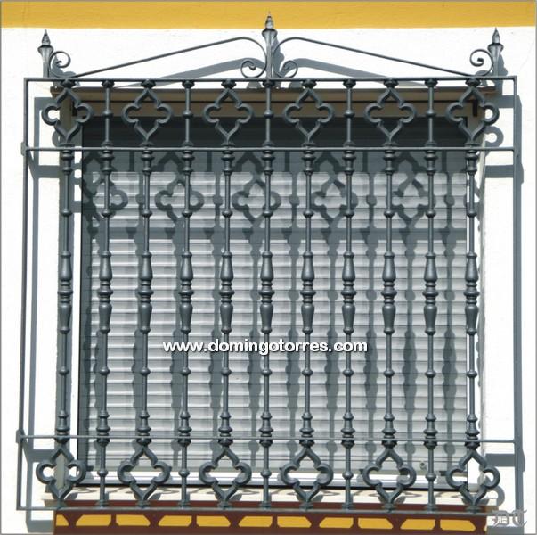 Pin protecciones ventanas hierro forjado mitula casas - Rejas de hierro forjado ...