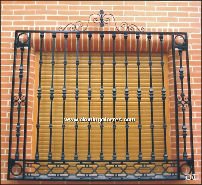 Pin rejas para ventanas hierro ca o metal desplegado malla - Mallas de hierro ...