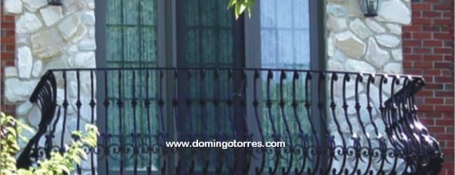 Balcones curvos es una etiqueta de forja y decoraci n - Forja domingo torres ...