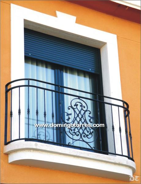 4010 Balcon forja artesana