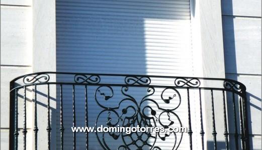 V deo de balcones de forja art stica fundici n ornamental - Balcones de forja antiguos ...