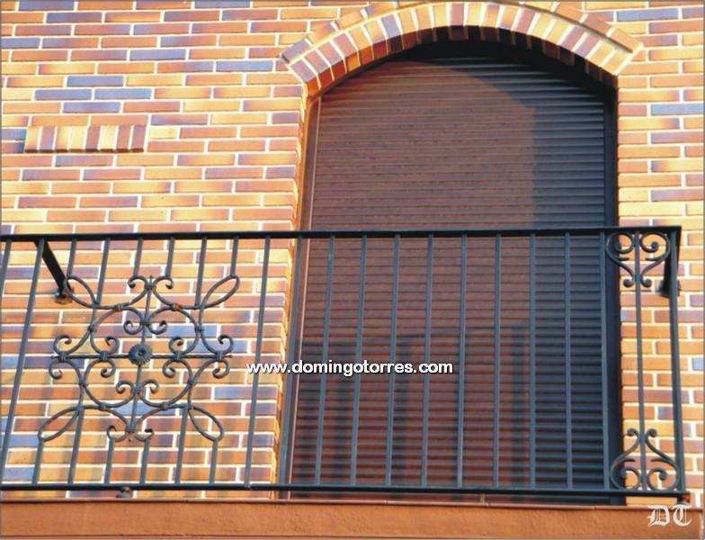4018 Balcon forja artistica