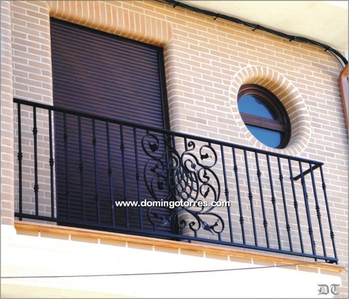 4021 Balcón forja artística
