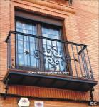 4022 Balcón forja artística