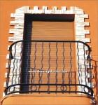 4033 Balcon hierro forjado