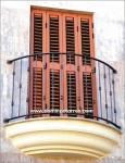 4035 Balcon hierro forjado