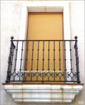 4036 Balcon hierro forjado