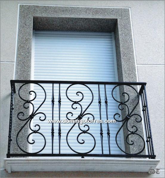 Ejemplo balc n n 4058 forja domingo torres s l - Balcones de forja antiguos ...