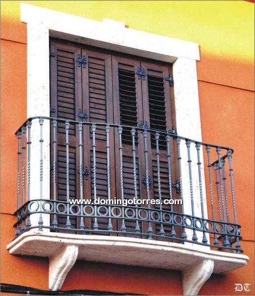 Ejemplo balc n n 4075 forja domingo torres s l - Domingo torres forja ...