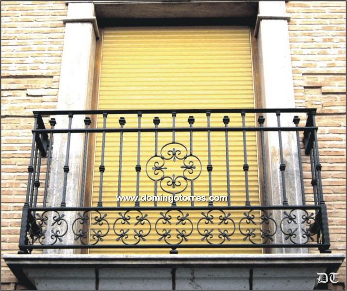 Ejemplo balc n n 4084 forja domingo torres s l - Balcones de forja antiguos ...