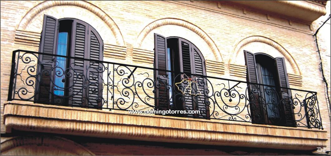 Ejemplo balc n n 4094 forja domingo torres s l - Domingo torres forja ...
