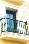 4110 Balcón hierro fundido y forja
