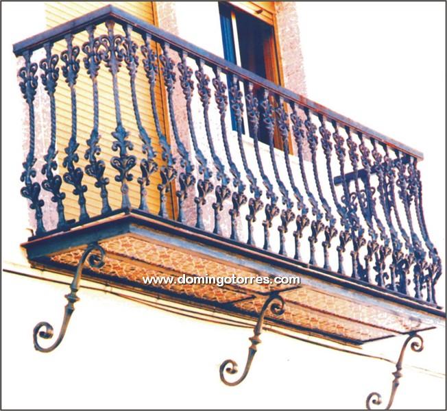 Ejemplo balc n n 4113 forja domingo torres s l - Hierro y aluminio ...