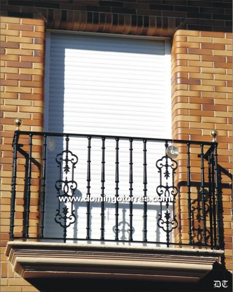 Rejas seguridad para puertas ventanas planta baja ajilbab - Forja domingo torres ...
