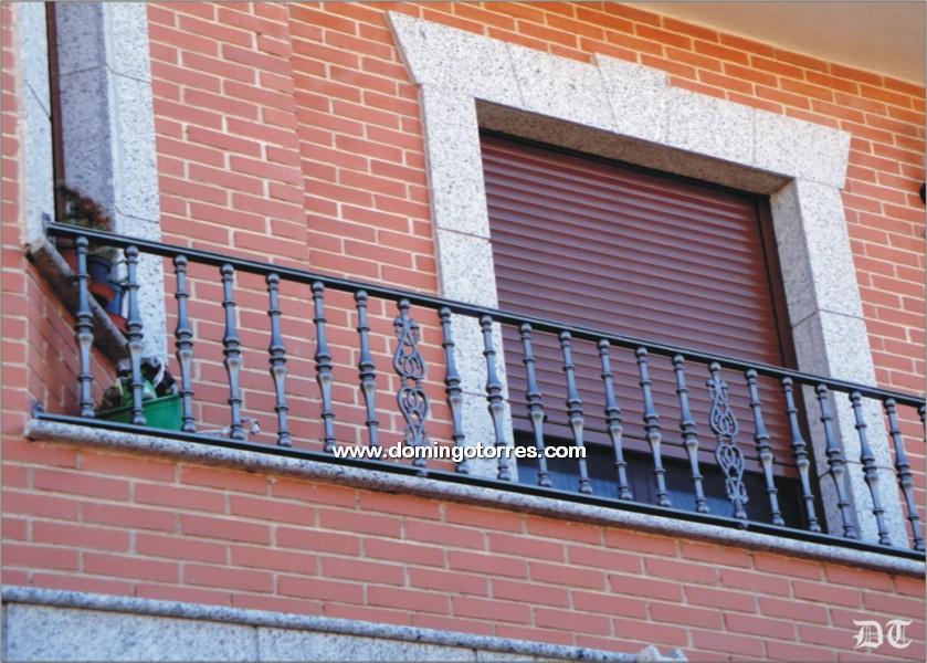 Ejemplo balc n n 4135 forja domingo torres s l - Hierro y aluminio ...