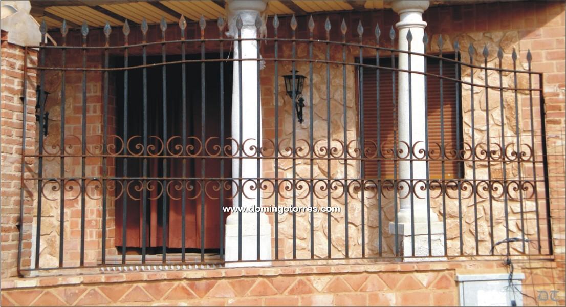 Verja de hierro forjado para jardines y viviendas n 5007 - Forja domingo torres ...