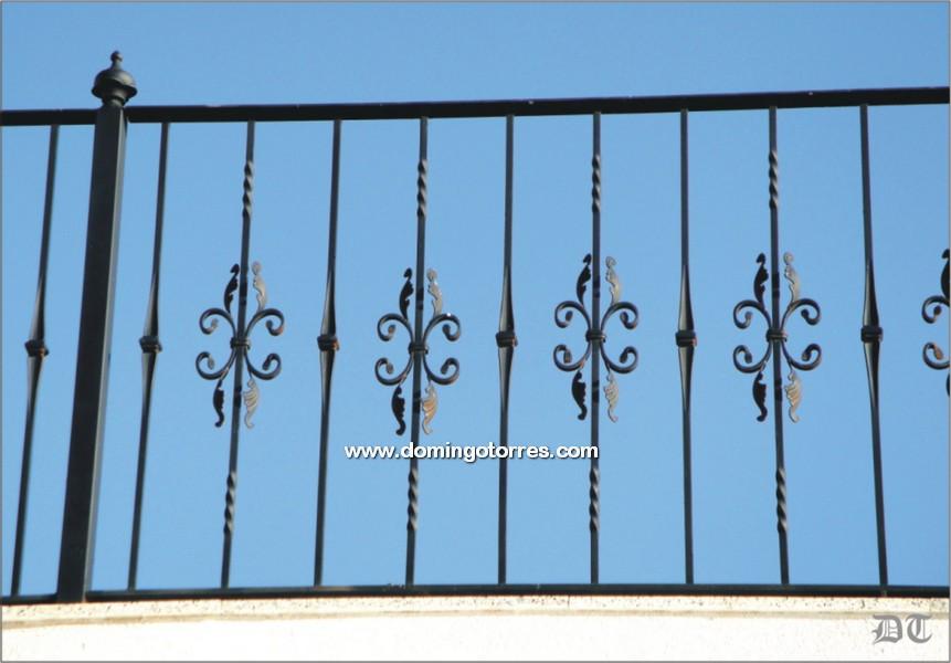 Contempor neo verjas de hierro molde ideas de decoraci n - Domingo torres forja ...