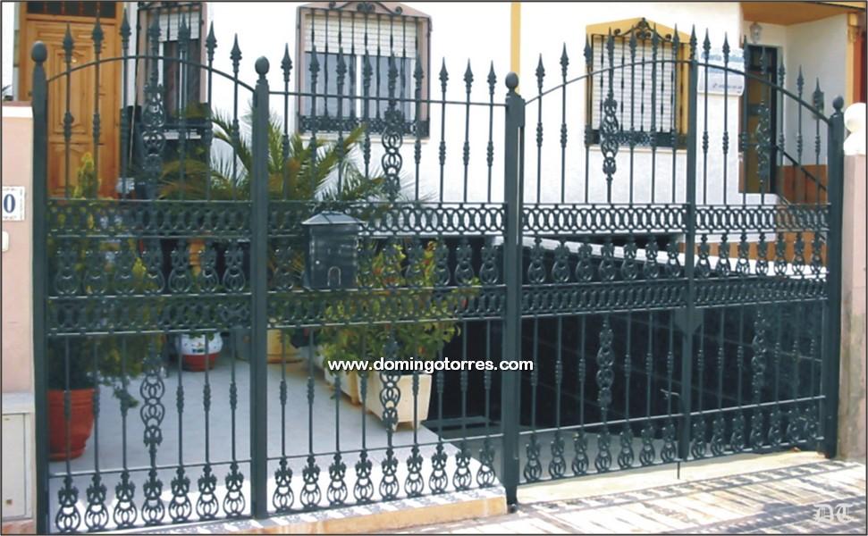 Verjas de forja awesome top formas de plsticos maderplast - Domingo torres forja ...