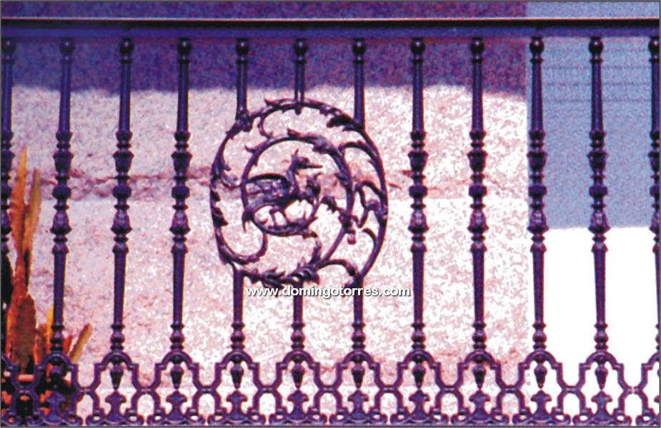 5061 Verja hierro fundido ornamental