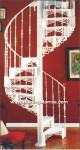 6002 Escalera caracol aluminio fundido
