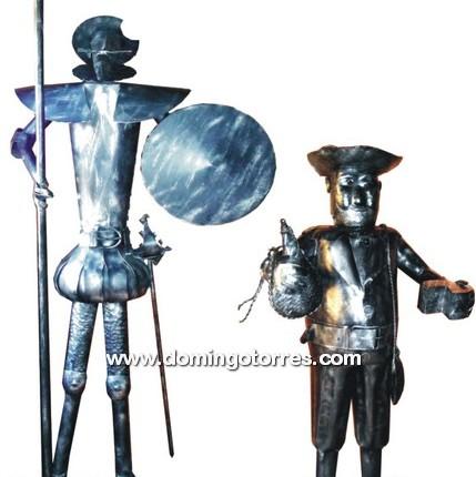 7005 Quijote y Sancho forja