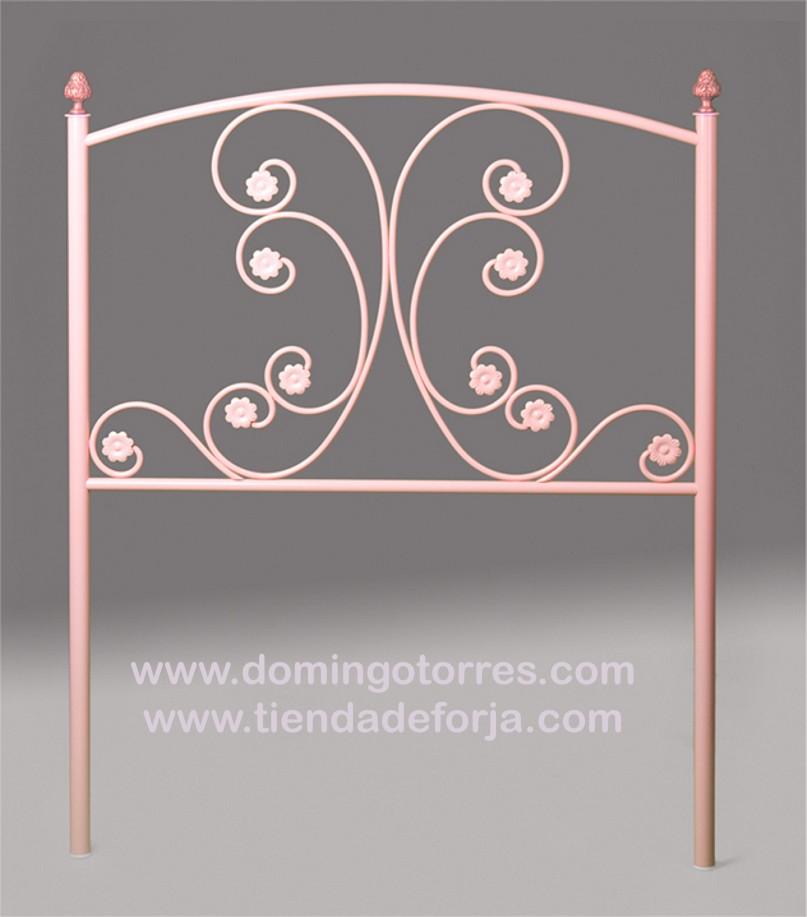 Pin cama y cabecero de forja con lat n c 8 on pinterest - Domingo torres forja ...