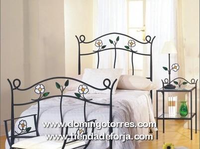 V deos de camas y cabeceros de forja art stica y aluminio - Diseno de cabeceros de cama ...