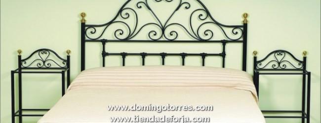 Cama r stica es una etiqueta de forja y decoraci n domingo - Forja domingo torres ...