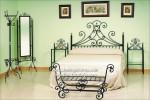 C-8 Cabecero y cama de forja artística