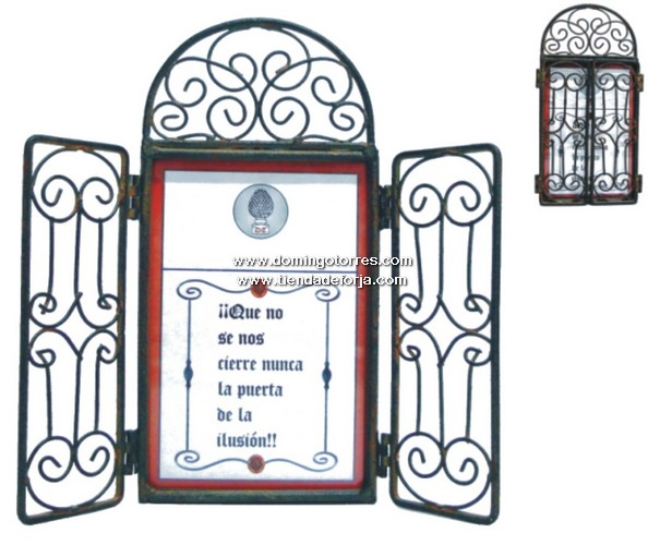 Cancela peque a de forja art stica av 57 forja domingo - Domingo torres forja ...