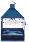 BAR-8 Barbacoa de forja y acero inox