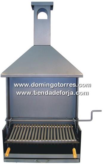 BAR-9 Barbacoa de forja y acero inox