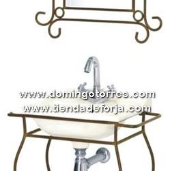 BÑ-1 Espejo y lavabo forja