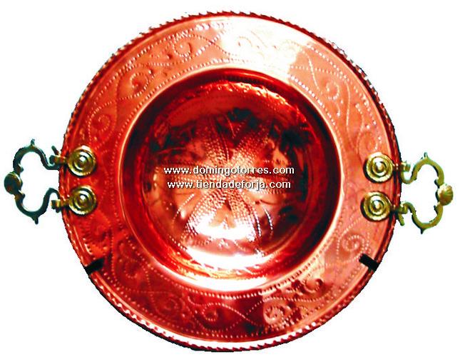 CBL-4 Brasero latón y cobre
