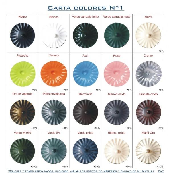 Carta colores Nº1