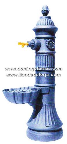FT-13 Fuente hierro fundido