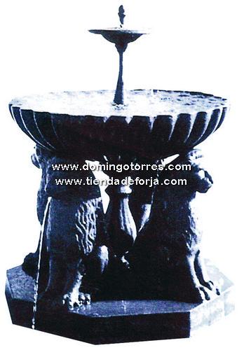 FT-4 Fuente hierro fundido