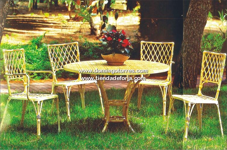 MSE-13 MSE-14 MSE-15 Mesa silla sillón aluminio