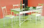 Juego de mesa, sillones y sillas forja Nº2