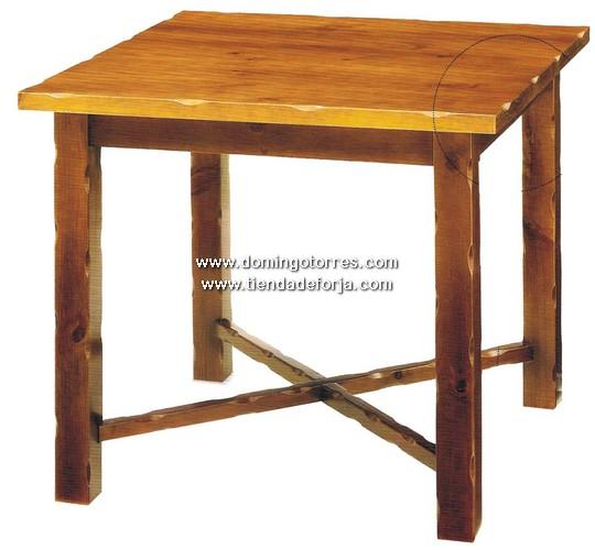 mesa de madera msh