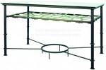 Mesa con soporte brasero MSF-13