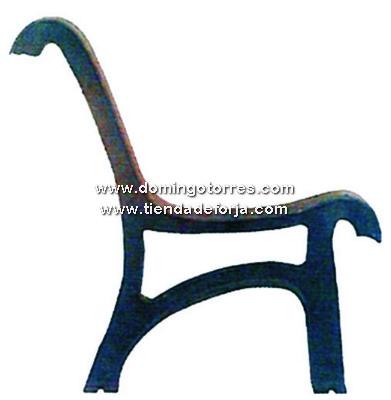 PB-11 Pata banco hierro fundido