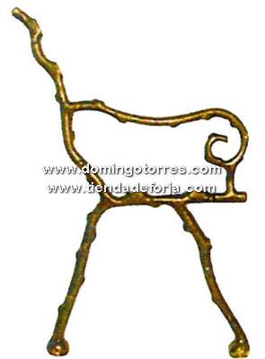PB-2 Pata banco hierro fundido