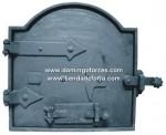 UC-23 Puerta horno hierro fundido