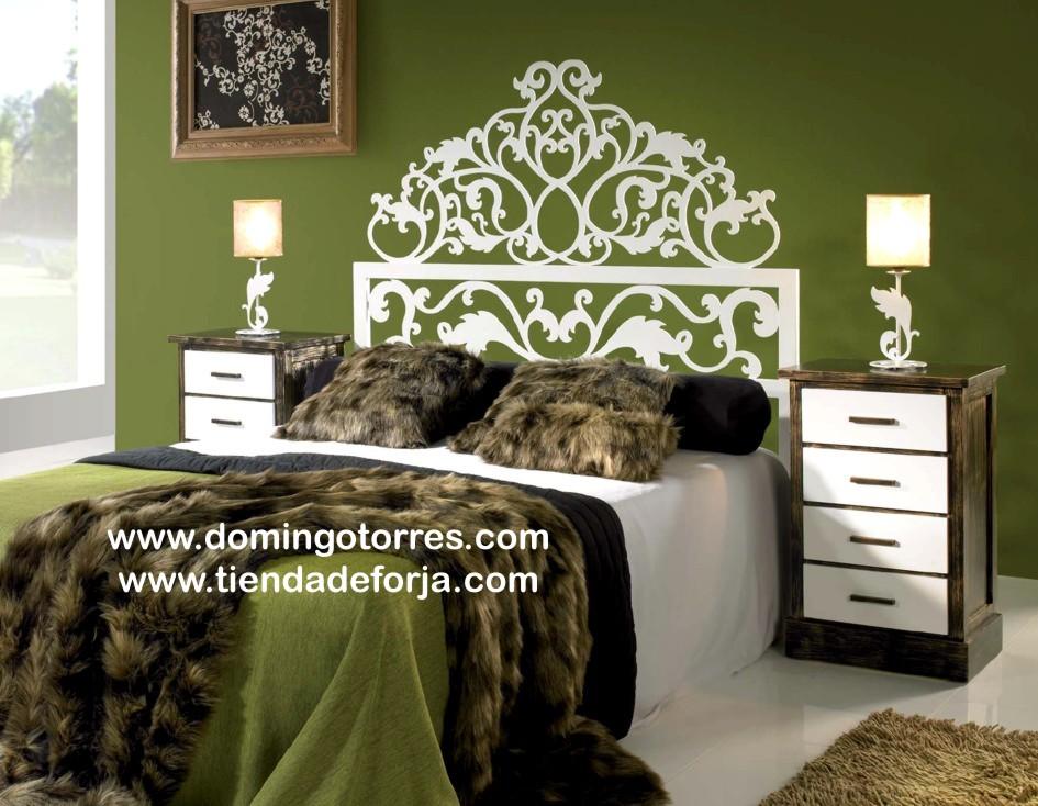 Cama cabezal y cabecero de forja moderna c 76 dayra - Ideas para cabezales de cama ...