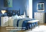 Cabecero y cama forja moderna mod. Orense C-84